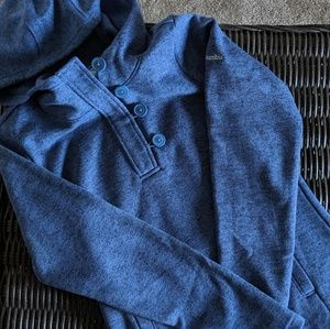 Columbia Hoodie with Buttons